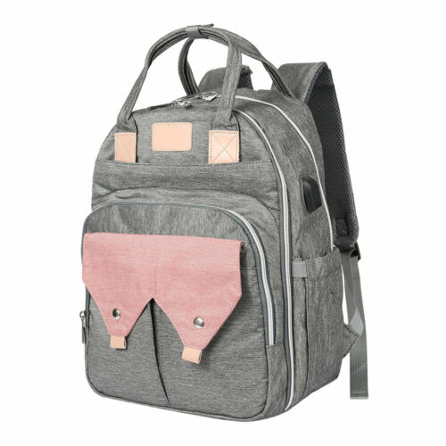 Multi-Function Baby Changing Bag Backpack Diaper Nappy Mummy Rucksack Maternity