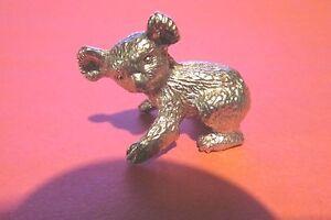 Pewter Koala Bear  Figurine