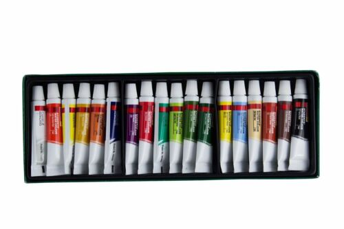 2x Camel Camlin Student Water Color Tube 5ml each 18 Shades