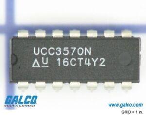 TI UCC3570N DIP-14 Low Power Pulse Width Modulator free shipping