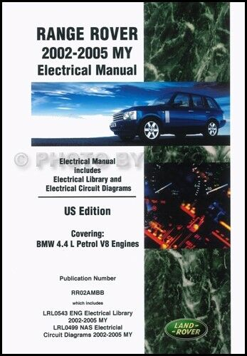 range rover electrical manual 2002 2003 2004 2005 wiring diagrams us rh ebay com Residential Electrical Wiring Diagrams Residential Electrical Wiring Diagrams