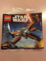 Lego Star Wars - Poe's X-Wing Fighter Polybag - The Force Awakens - NEW 30278