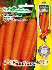 Sps Chrestensen Vegetables Carrots Napoli F 1 Seed,Daucus Carrot