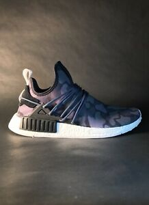 new arrival a67fe 91331 Details about Adidas NMD XR1 Duck Camo Black Customs 10.5