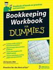 Bookkeeping Workbook For Dummies by Lita Epstein (Paperback, 2007)