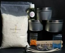 "wax*wicks*color*fragrance*tins Creative DIY /""Deluxe/"" Soy Wax Candle Making Kit"
