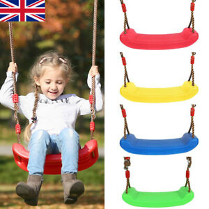 Children/'s Replacement RED Swing Seat Height Adjustable Rope Climbing Frame