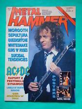 ►Polish magazine Metal Hammer 91 Desmond Child Queensryche Whitesnake Sepultura