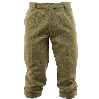 Game Mens Light Derby Tweed Breeches Hunting Shooting Breeks Trousers