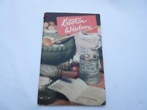 Vintage Kitchen Wisdom cookery booklet Borwicks baking powder Ambrose Heath