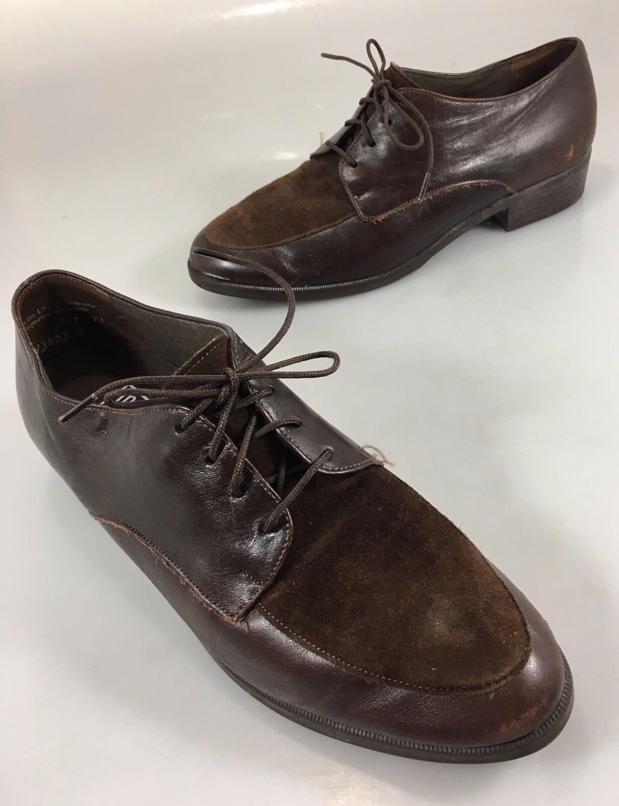 spedizione e scambi gratuiti. Munro American Sport Sport Sport donna 9 M Marrone Suede Leather Oxford Walking scarpe  outlet