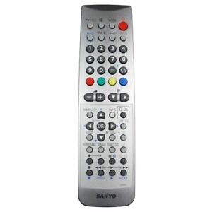 Details about NEW Genuine Sanyo JXMSC TV Remote Control