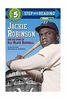 Jackie Robinson And The Story Of All Black Baseball (step Into ... Free Shipping