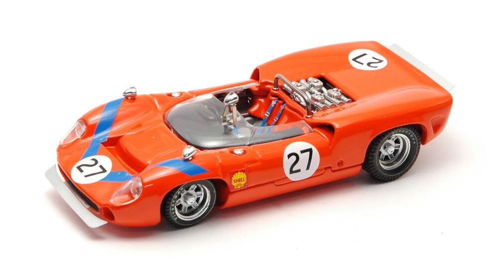 Lola T 70 Spyder #27 7th Fuji Fuji Fuji 1968 T. Sakai 1:43 Model BEST MODELS | De Haute Qualité Et Peu Coûteux  bac6de