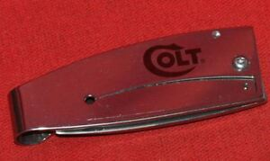 COLT-FIREARMS-FACTORY-Stainless-Money-Clip-Knife