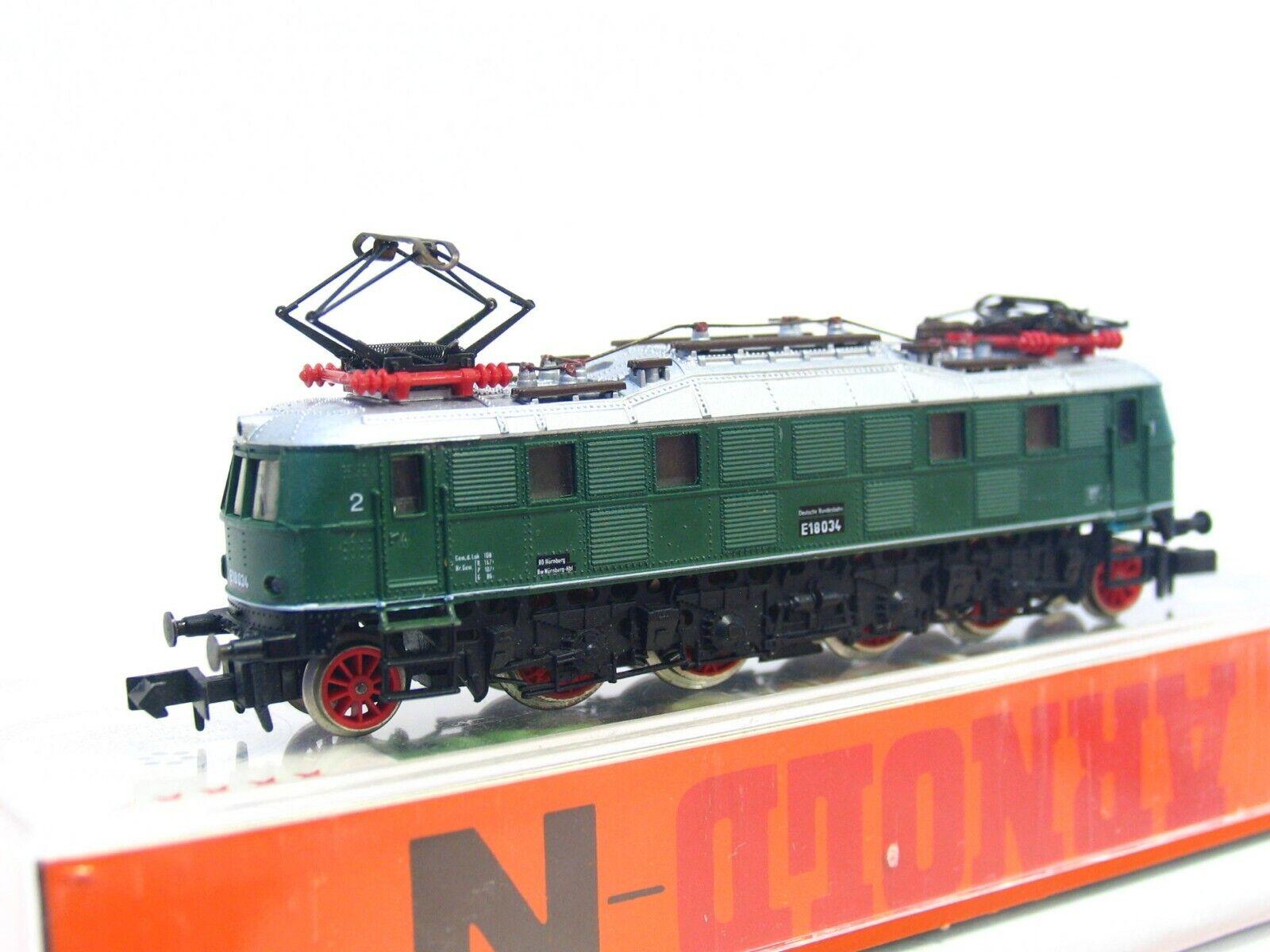 Arnold N 2458 E-Lok E-Lok E-Lok BR E18 034 DB OVP (RB7773)  | Stilvoll und lustig  2aca32