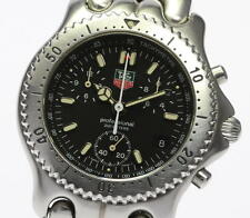 Auth TAG HEUER S/el CG1110 Men's WATCH StainlessSteel Chronograph Quartz_332916