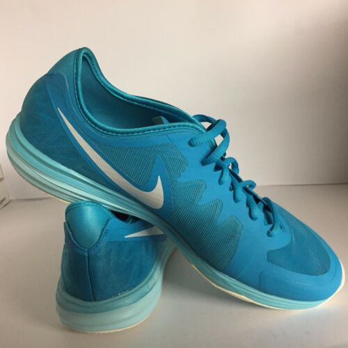 Women/'s Nike Dual Fusion TR 3 Women/'s Running Fitness Trainers Blue RRP £65