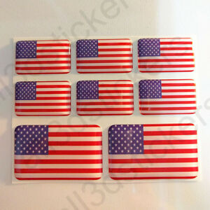 Pegatinas-Estados-Unidos-USA-Pegatina-Bandera-Vinilo-Adhesivo-3D-Relieve-Resina