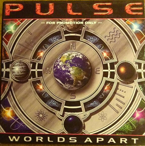 pulse - worlds apart - CD - album - promo in papphülle