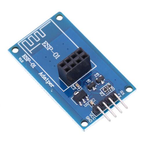 01 Adapter 3.3V5V Transparent Pass-through Module 2Pc ESP8266 Wifi Wireless
