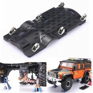 Fuer-1-10-TRX-4-SCX10-RC-Crawler-Car-Auto-Lie-Board-Bottom-Chassis-Reparatur-Teil