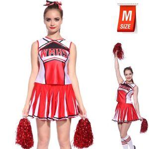Adult Ladies Cheerleaders Pom Poms 4 Styles Fancy Dress Accessory