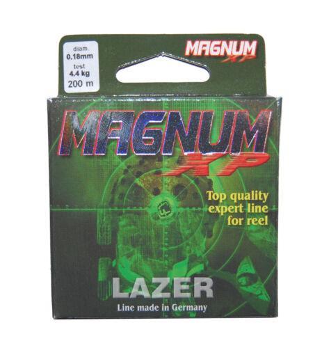 200m Lazer Magnum Mono Fishing Line 3lb 4lb 6lb 10lb 11lb 17lb 23lb 28.44lb