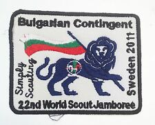 22rd world scout jamboree BULGARIAN CONTINGENT BADGE 2011