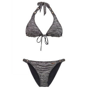 Protest Halter Bikini June Black True Costume 7qavdnZq