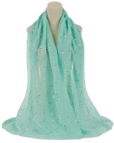 OE Impresión Floral Margarita Grande Celebrity Fashion Scarf Wrap Shawl Maxi Sarong