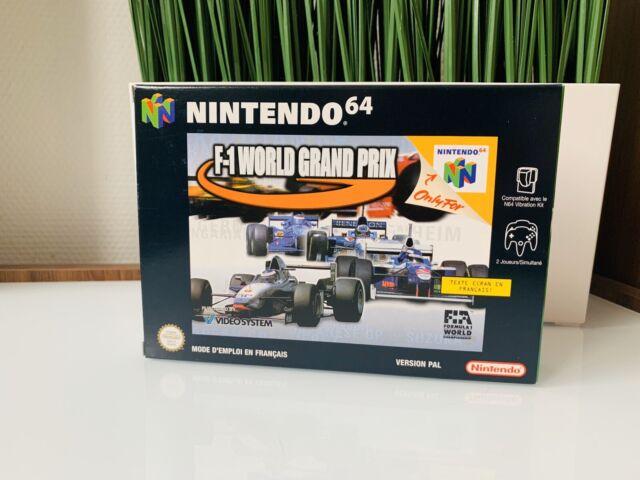 Jeu Nintendo 64 F1 WORLD GRAND PRIX NEUF