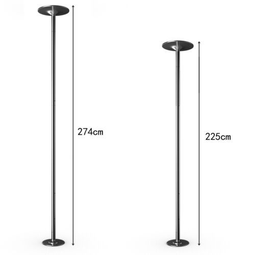 Profi Tanzstange 45mm Dance Stange Strip Stange static/&spinning höhenverstellbar