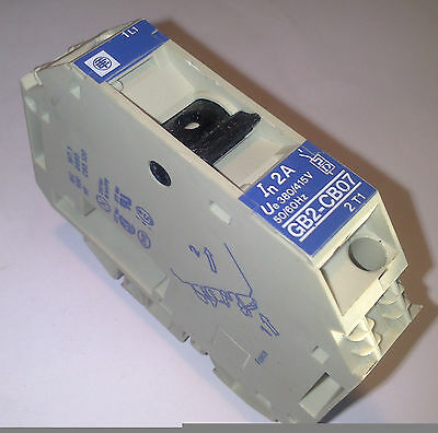 Telemecanique GB2-CB07 2 A CIRCUIT PROTECTOR MAGNETOTERMICO