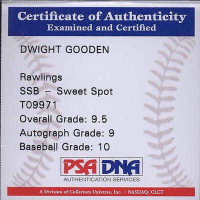 Autographed Baseball - Dwight Gooden