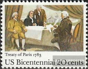 EEUU 1650 (completa edición) nuevo con goma original 1983 independencia