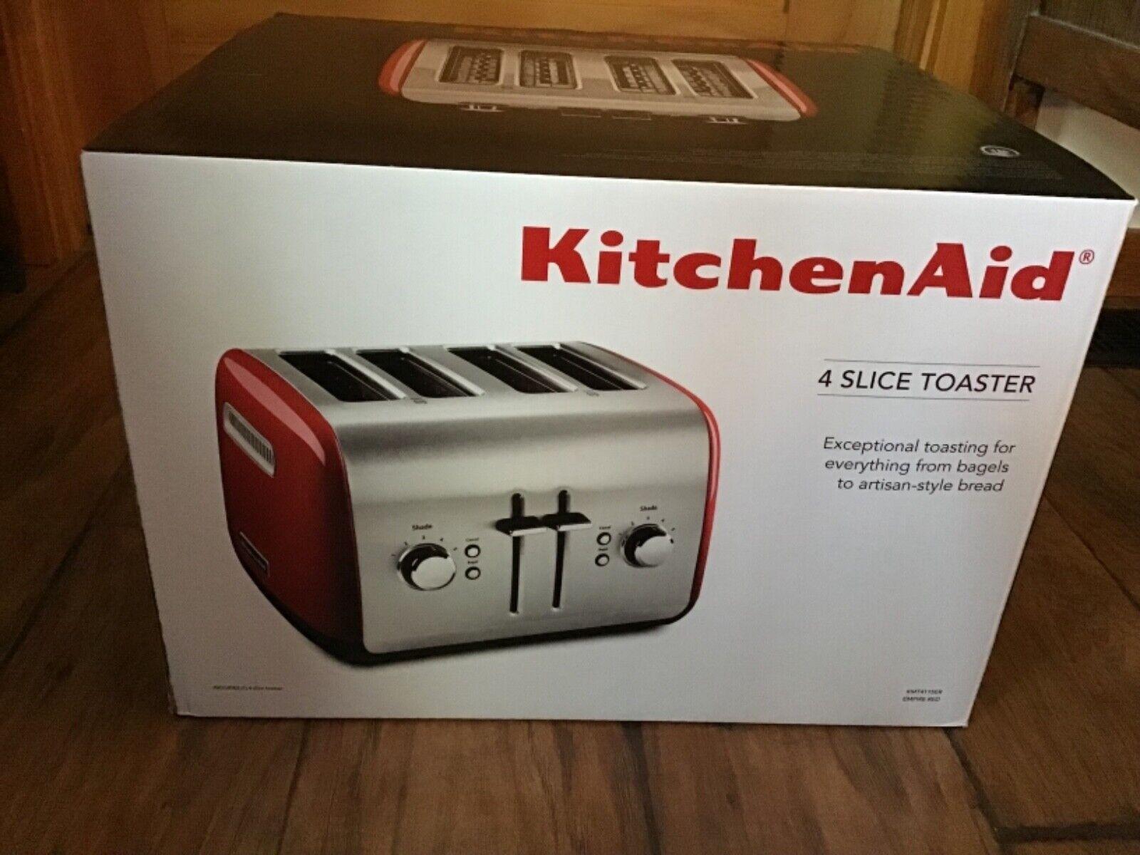 NEW KitchenAid 4-Slice Toaster KMT4115ER