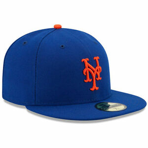 NEW YORK METS GAME New Era 5950 On Field Home Cap MLB Baseball Fitted Hat NY