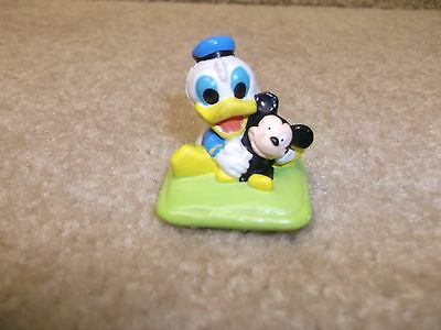 Vintage 1984 Disney World PVC Baby Donald Duck Figure Cake Topper