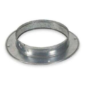 ZORO-SELECT-4JRN3-Snap-On-Collar-Round-Galvanized-Steel