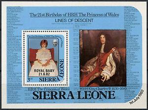 Sierra-Leone-1982-Royal-Baby-Birth-MNH-M-S-A90451