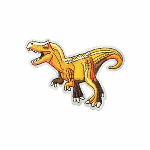 Tyrannosaurus Tex T Rex Dinosaur Iron On Embroidery Applique Patch