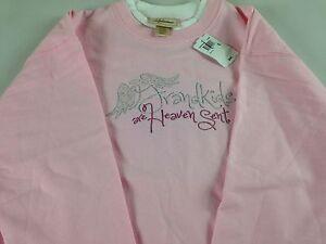 Keep Calm and Hug Grandma Sweatshirt Fleece Womens SZ S//M Green Super Soft Na Na