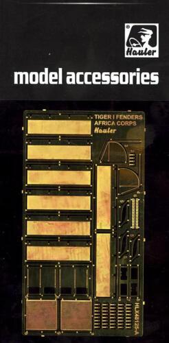 """Hauler Models 1//48 TIGER I /""""AFRICA CORPS/"""" FENDERS Photo Etch Detail Set"""
