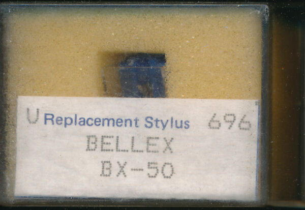 """aiguille Record Needle Pick-up Replacement Stylus 696 Bellex Bx-50"