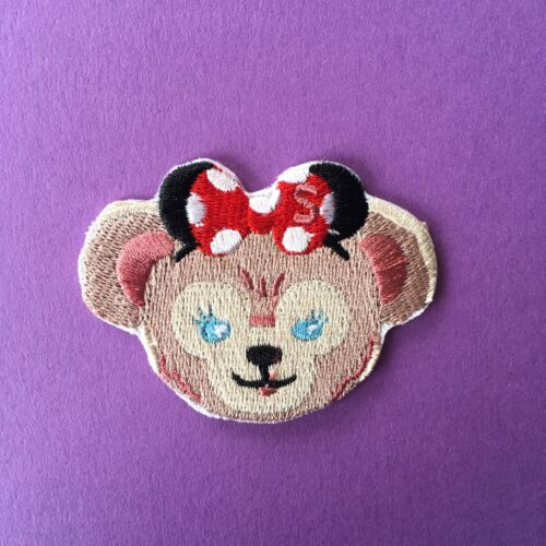 Disney Shellie May Bear personnage brodé Appliques Patch A Coudre ou Fer Sur #