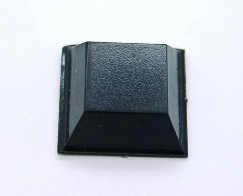 Bumper Goma Auto Adhesivo 20,6mm x 7,6mm Auténtico 3M SJ5023 Negro Bumpon