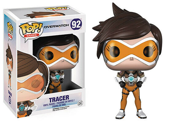 Pop Games 3.75 Inch Action Figure Overwatch - Tracer #92