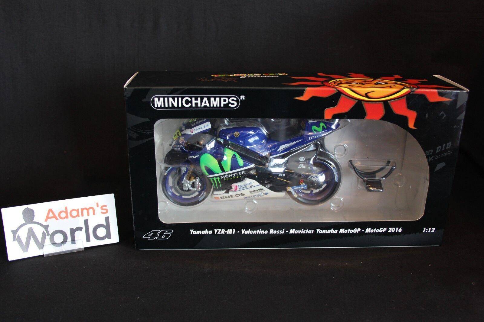 Minichamps Yamaha YZR-M1 2016 1 12  46 Valentino Rossi (ITA)