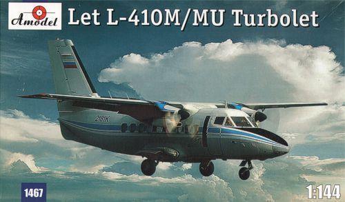 Amodel 1//144 Let L-410M//L-410MU TURBOLET # 14467